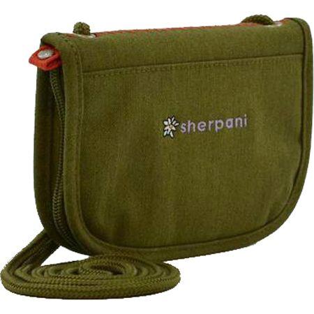 Sherpani Zoe in Olive- String Cross Body Wallet