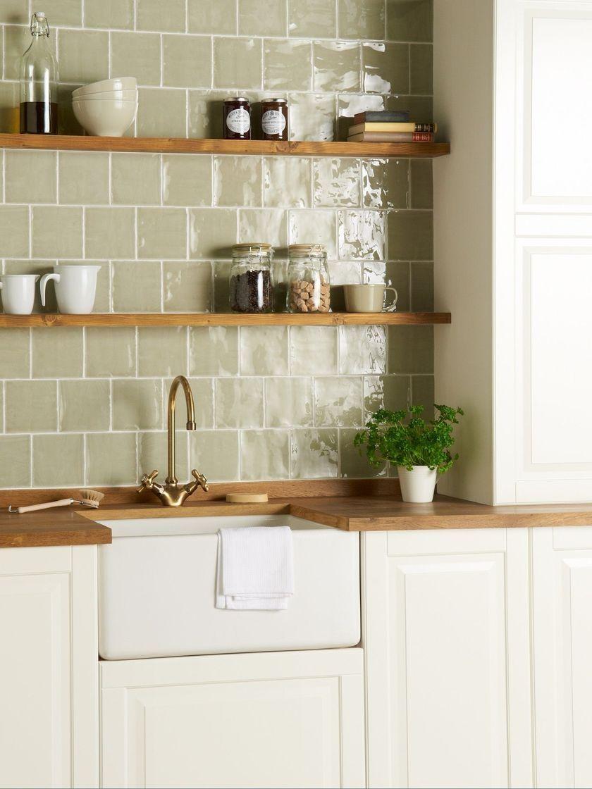 35 Gorgeous Modern Farmhouse Kitchen Wall Decor Homiku Com Country Kitchen Tiles Kitchen Wall Tiles Design Kitchen Tiles