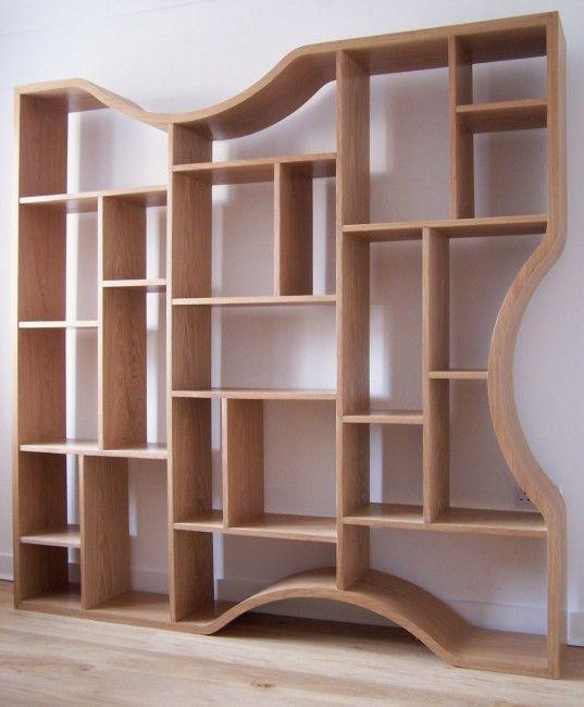 Designer Shelving Unit Handmade In The Uk Shelves Shelving Unique Bookshelves