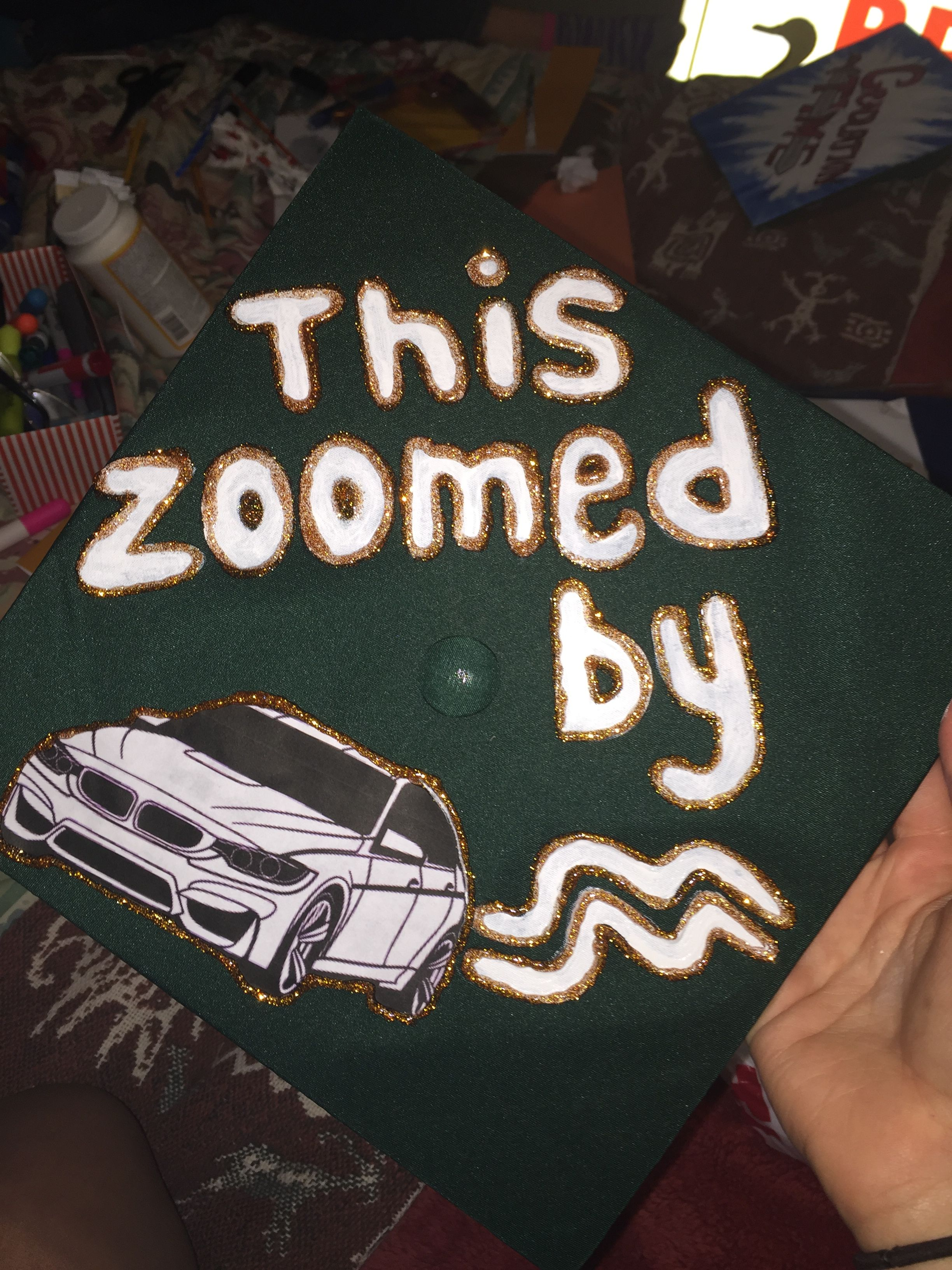 Graduation Cap Idea This Zoomed By