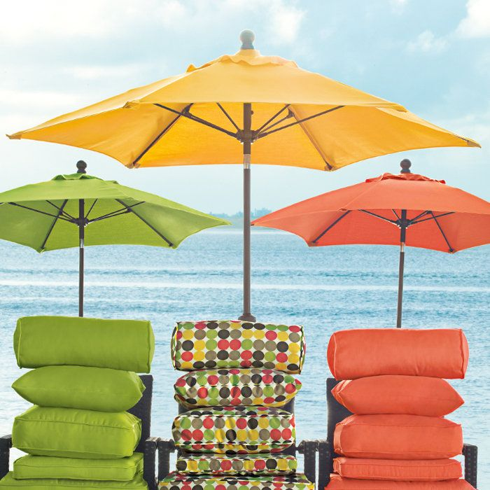 The Perfect Patio Umbrellau2014withstands The Elements And Tilts To Follow The  Sun.