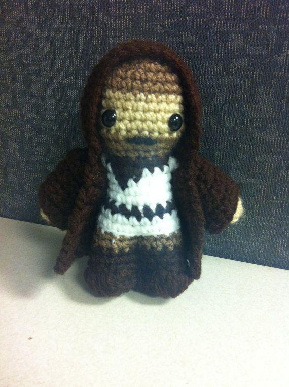 ObiWan Star Wars Mini Amigurumi Custom Made Crochet by LuvKnotz ...