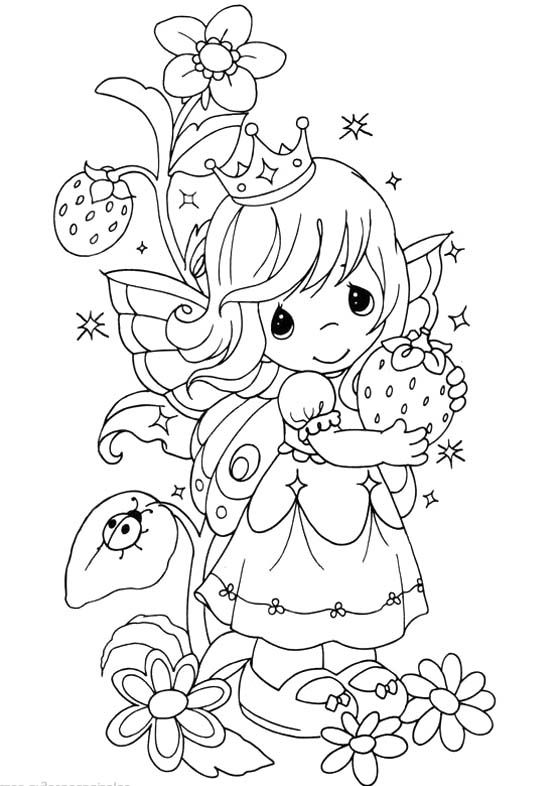 Precious Moments Princess Coloring Pages Precious Moments