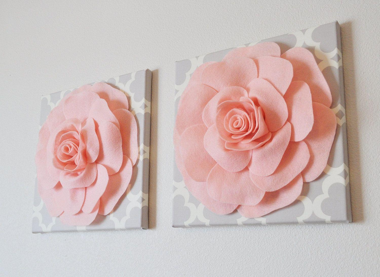 Felt Flower Wall Hanging