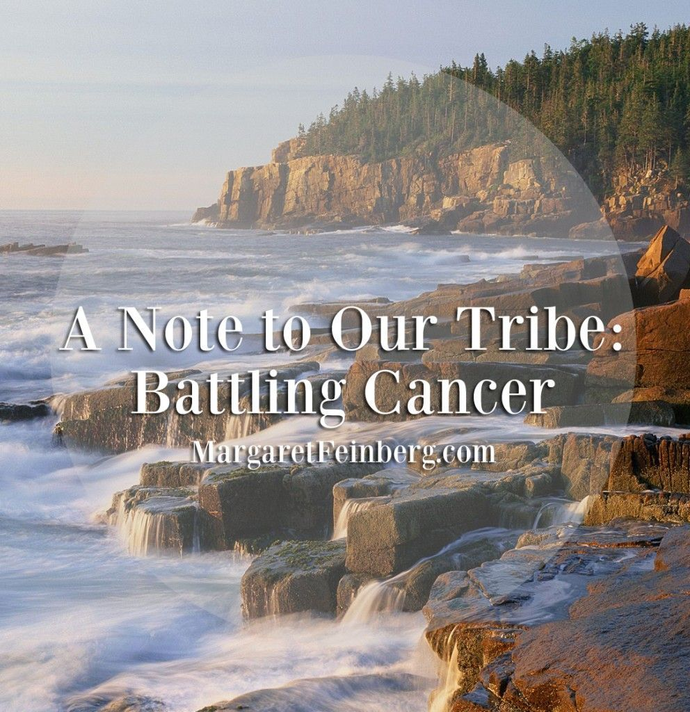 Note to Our Tribe: Battling Cancer A Note to Our Tribe: Battling Cancer - We covet your prayers—for everyone you know who is battling this disease and their families, for Leif and I, for our brilliant team of medical doctors, and for the effectiveness of the treatment. And most importantly, that God would dole out an extra helping of gr