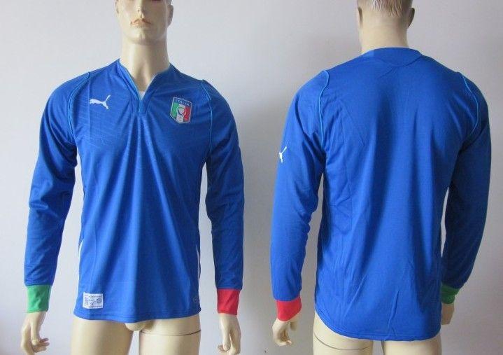 Camisetas de Futbol Selección de Italia 2013/2014 Manga Larga [130] - €16.87 : Camisetas de futbol baratas online!