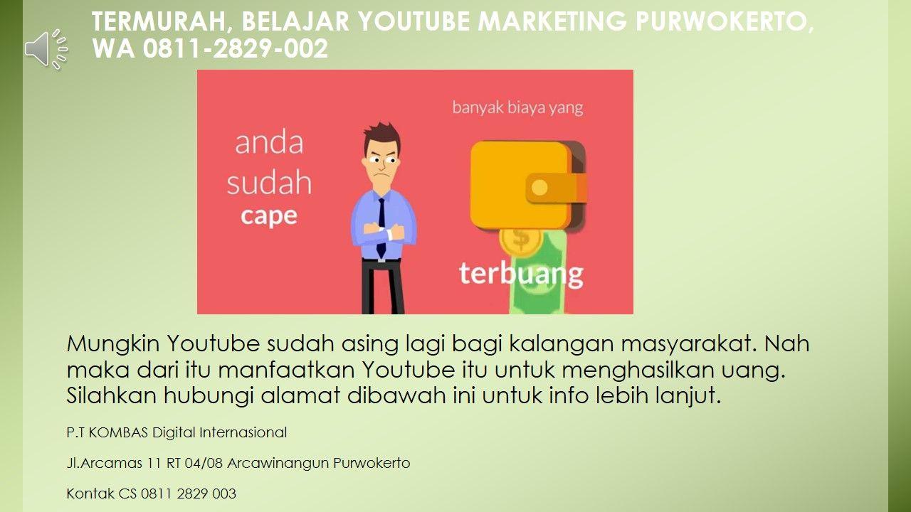 Sebagai Youtuber Marketing Online Kita Harus Tau Apa Itu Youtube Dan Bagaimana Cara Menggunakan Youtube Dengan Baik Dengan Kita Suda Belajar Marketing Youtube