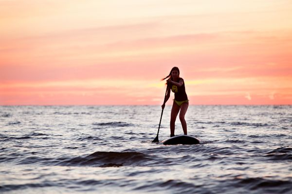 The sport of Stand Up Paddle #surf #style #SUP