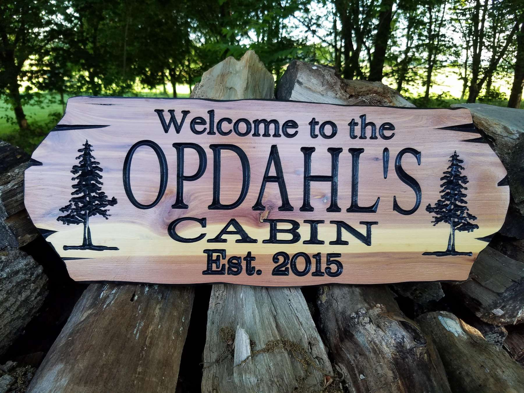 custom outdoor signs for home