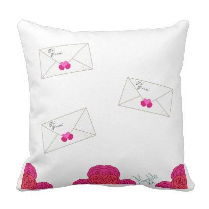 ValentineS Love Letter Pillow  Valentines Day Gifts Love Couple