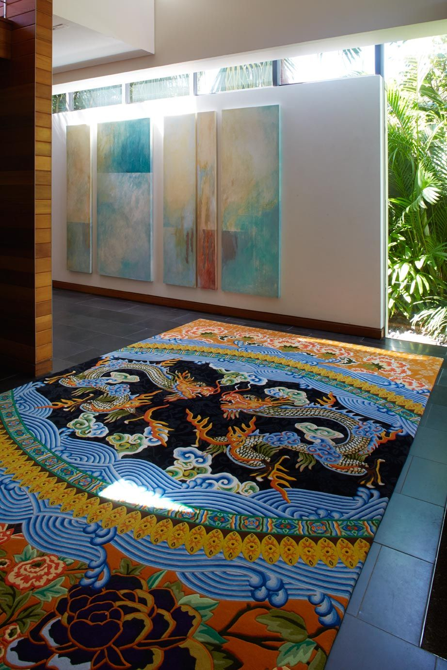 We Ve Teamed Up With Kaftan Queen Camilla Fashion Designer To The Likes Of Oprah And Beyonce To Create A Unique Handmade Floor Rugs Rugs Eclectic Design