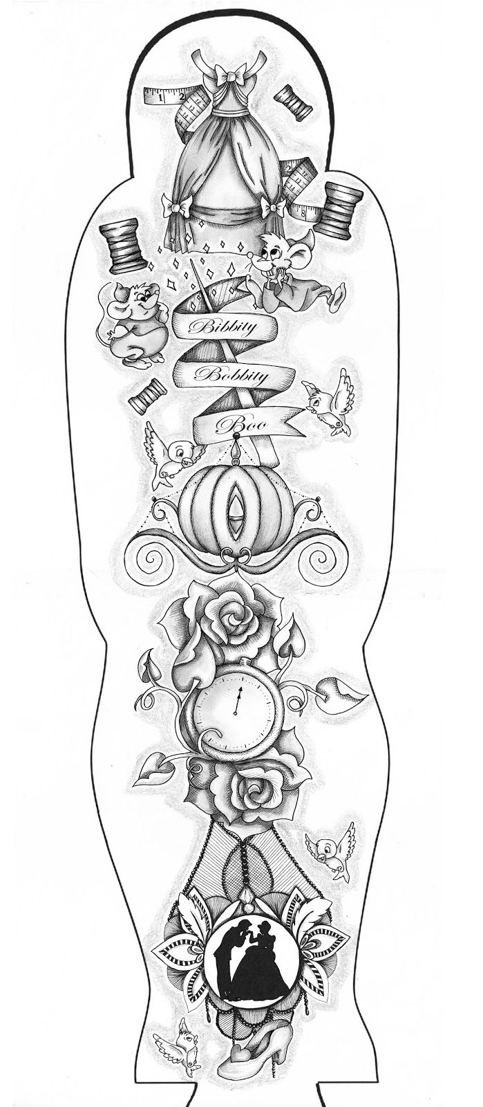 Image result for blank tattoo sleeve template Sleeve tattoos