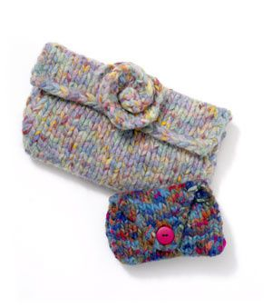 Jean's Felted Clutch
