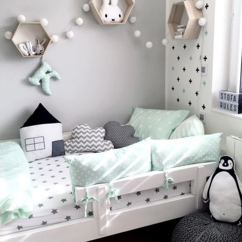 What S Hot On Pinterest 5 Vintage Kids Bedroom Ideas Toddler Rooms Childrens Bedrooms Girl Room