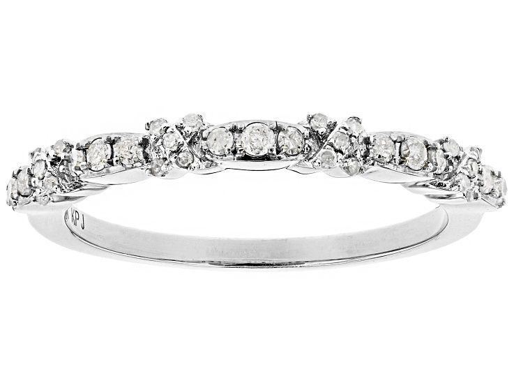 White Diamond 10k White Gold Ring 20ctw Gold Rings White Gold Rings Sterling Silver Rings