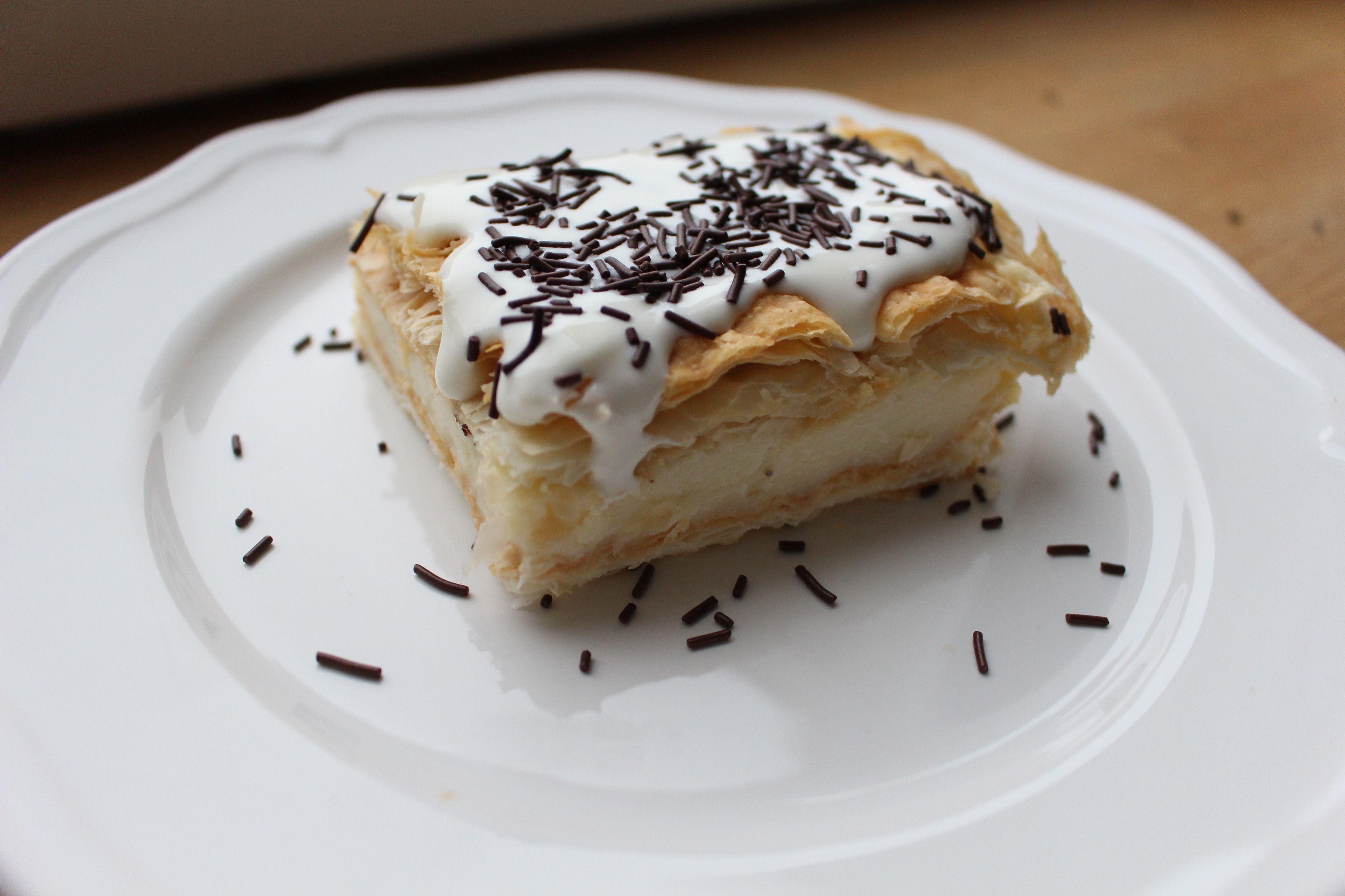 Bezglutenowe Napoleonki Ciasto Francuskie Bezglutenowe Pyycha Food Eat Desserts