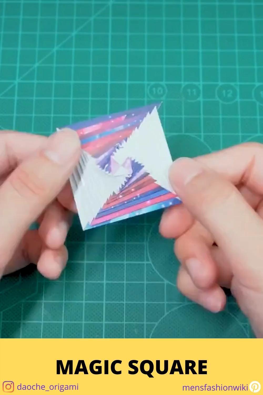 Photo of Origami geometric shapes tutorials – Making square