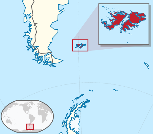 The Falkland Islands are an archipelago located in the South