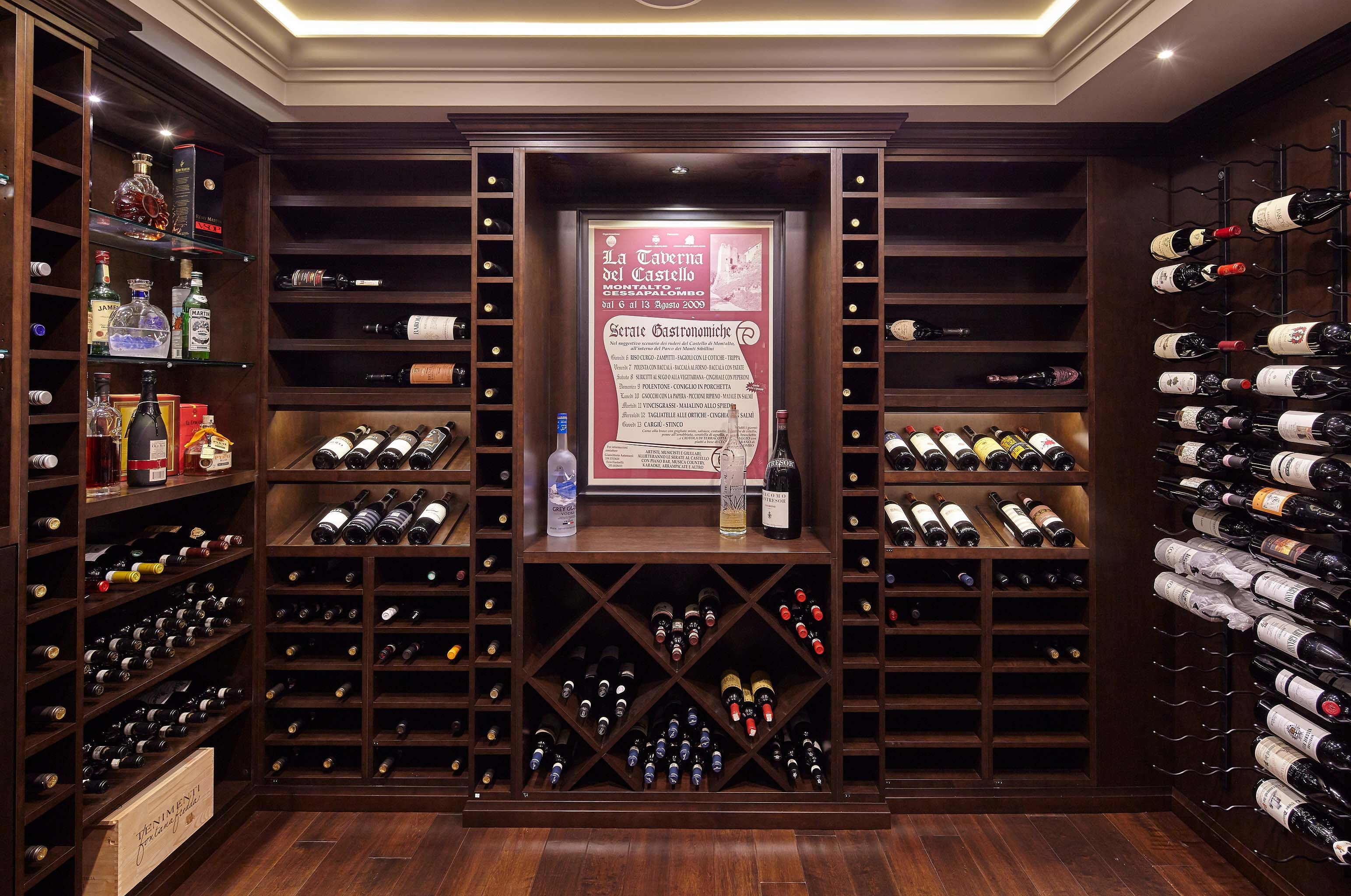 Custom millwork wine cellar in burnaby millwork pinterest wine