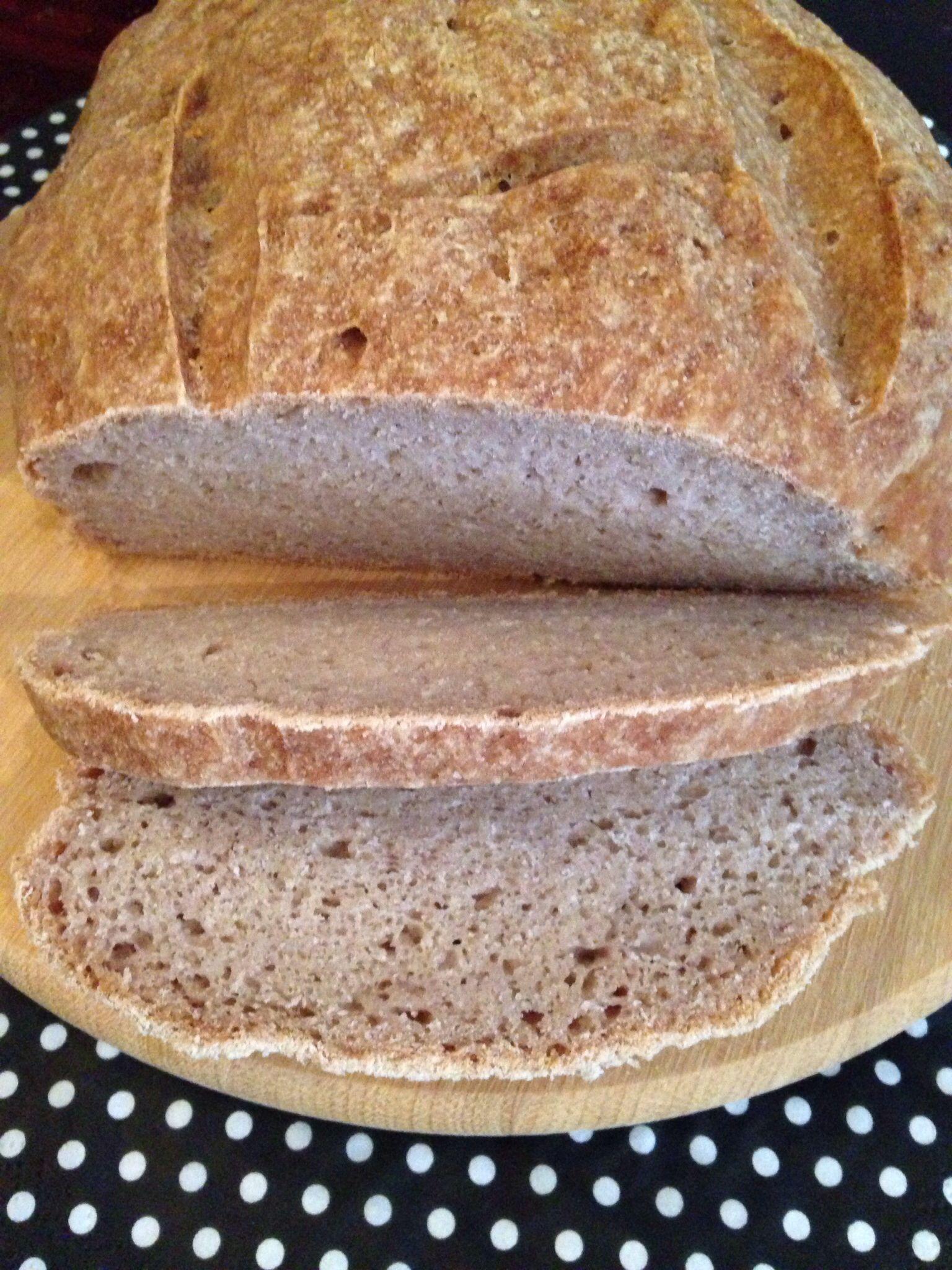 Pão italiano sem glúten e sem lactose. Receita no blog!
