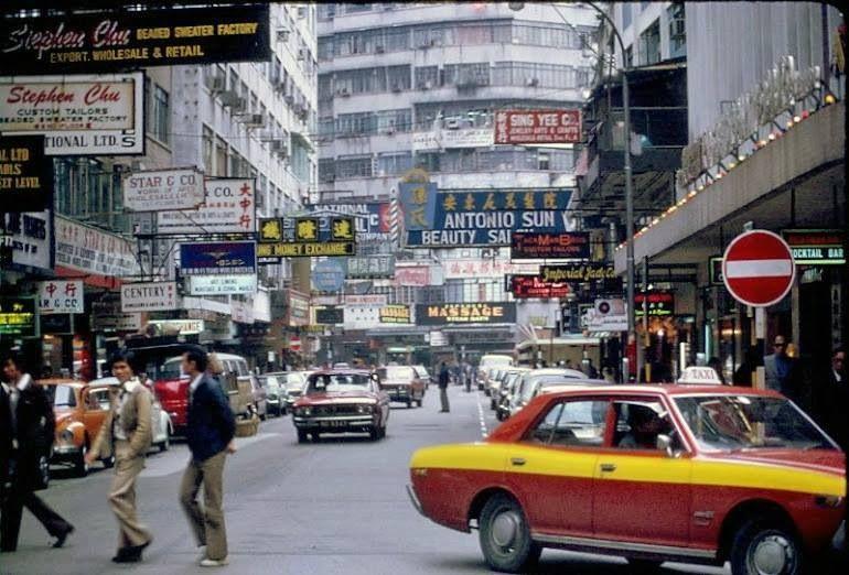 HK 1960's British hong kong, Hong kong, History pictures