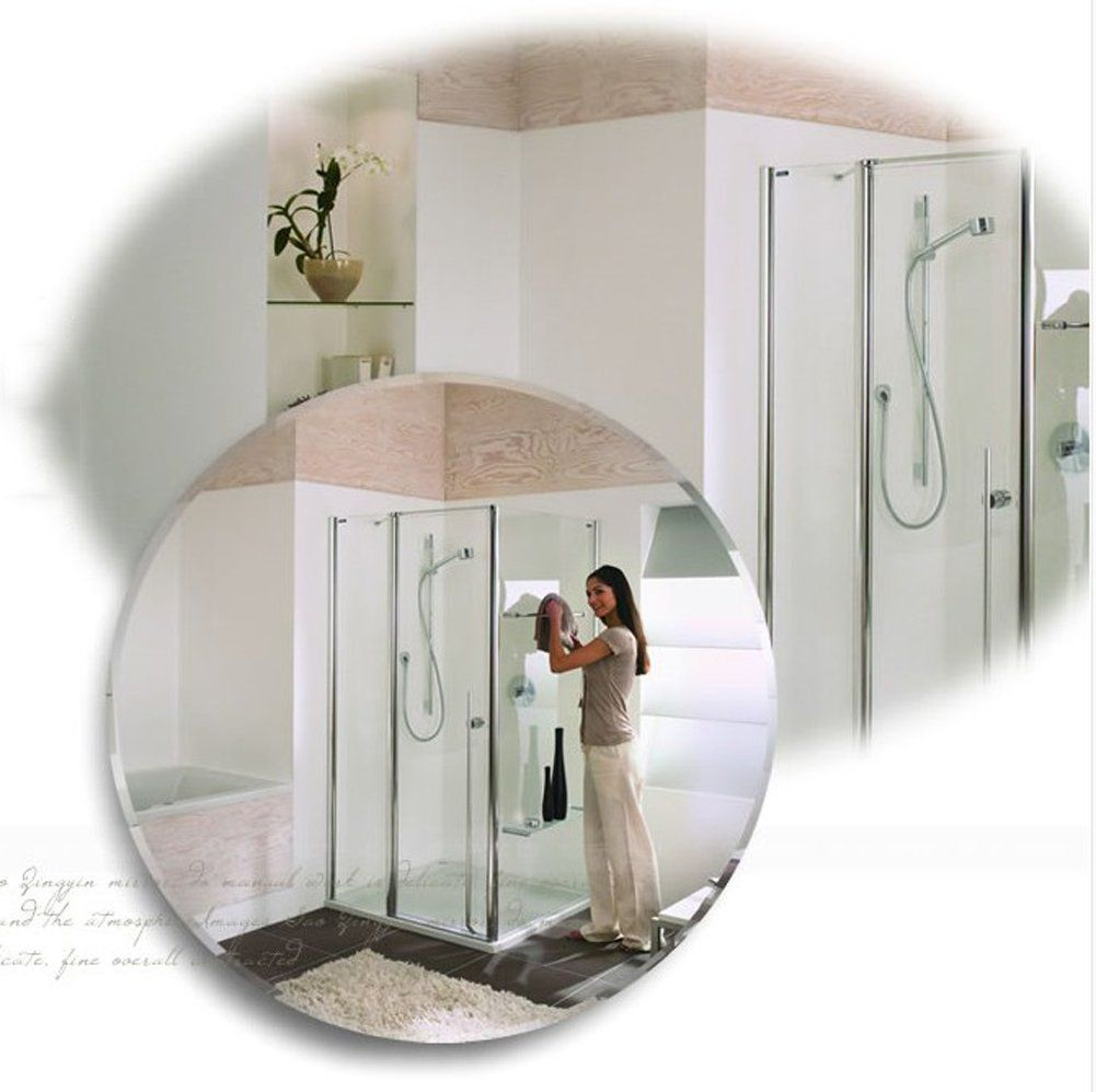 abc9d4f9b00a DADAO Simple european frameless mirror bathroom mirror wall mounted ...
