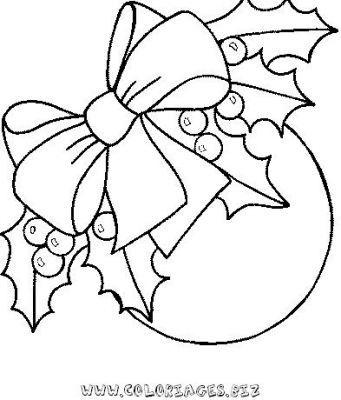 dibujos de coronas de navidad para pintar - Buscar con Google - navidad para colorear