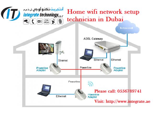 Wifi signal booster setup home in Dubai | wifi installation ...