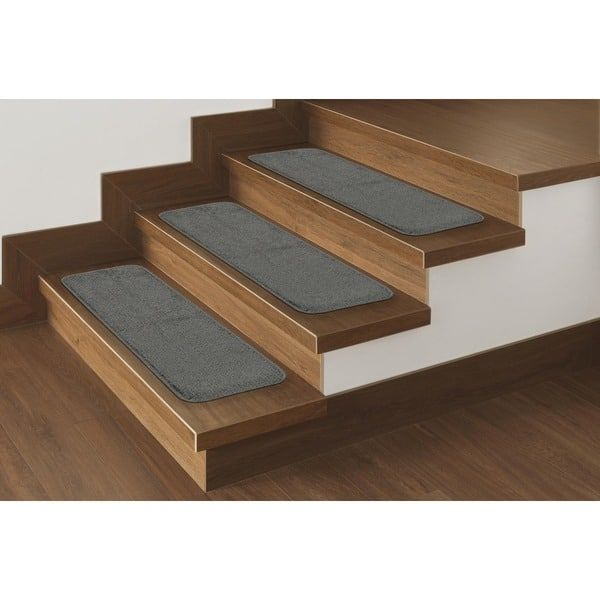 Best Ottomanson Softy Solid Color Non Slip Stair Treads 9 X 400 x 300