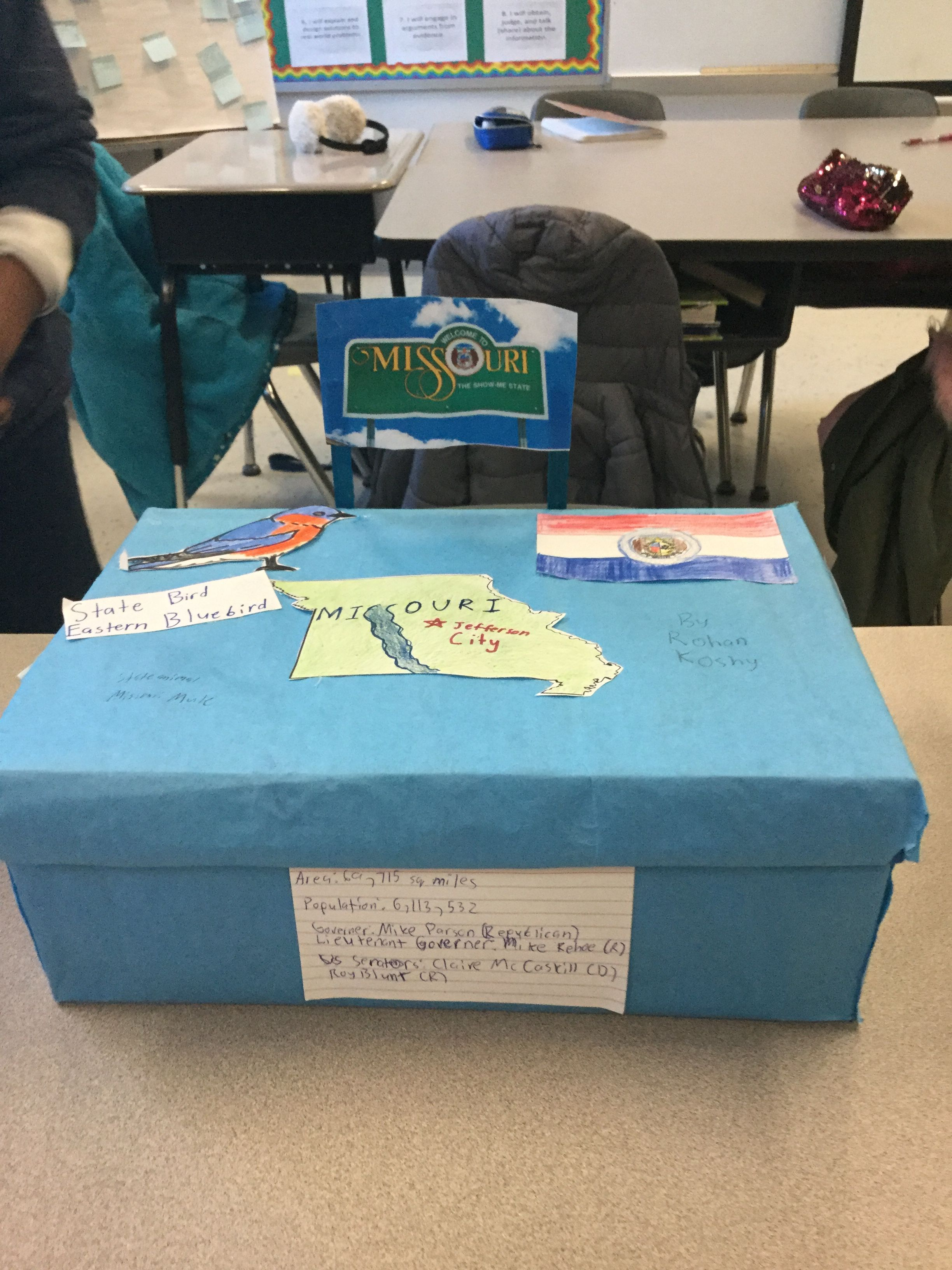 Pin By Mildred Johnson On Shoebox Floats Of U S States