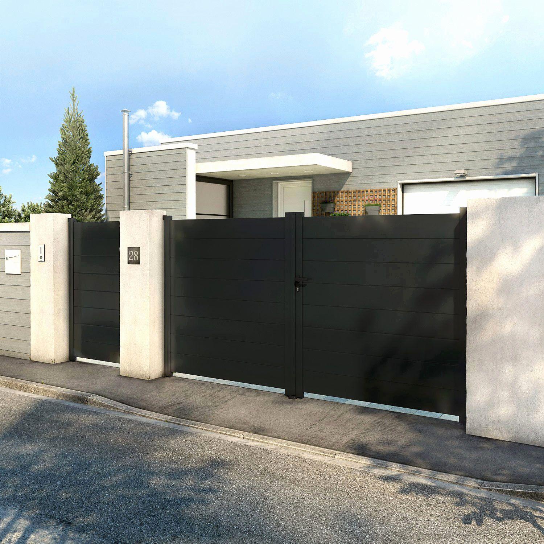 Beautiful Promo Portail Leroy Merlin House Gate Design Entrance Gates Design House Front Design