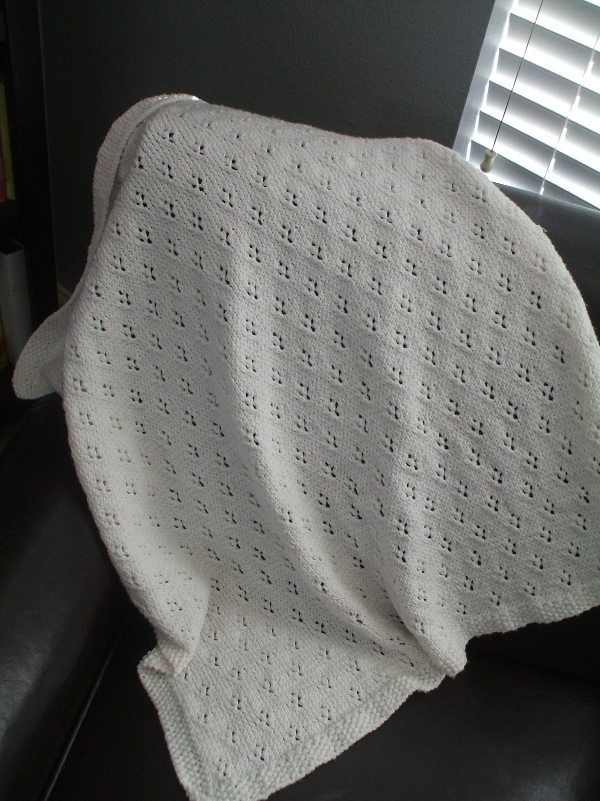 Ravelry: Alex\'s Baby Blanket by Angie Jaszek | Knit\'g projects ...