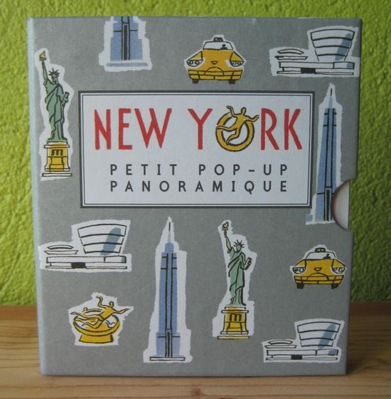 New York - Petit Pop-Up Panoramique Sarah McMenemy Editions Casterman