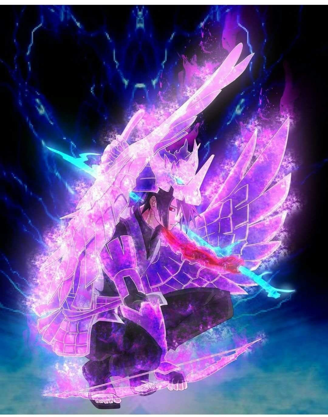 Sasuke Uchiha Wallpaper ️ #Susanoo #Protector #Sharingan # ...