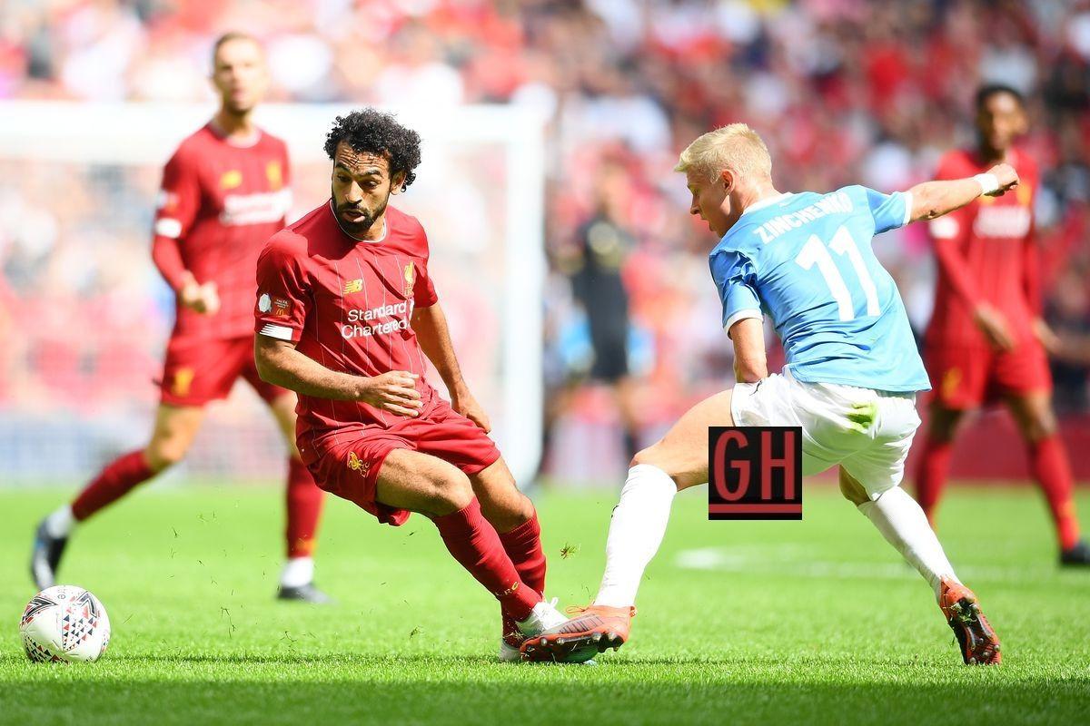Liverpool 1 1 Manchester City Pen 4 5 Manchester City Liverpool Community Shield