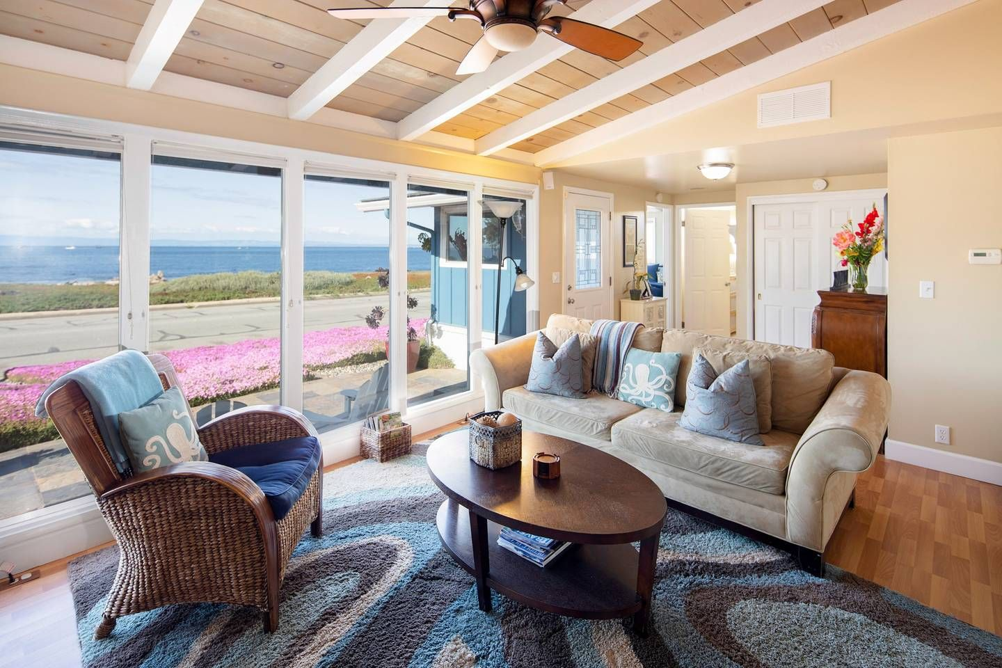 Big Sur Air Bnb Ocean Front View In 2020 Home Vacation
