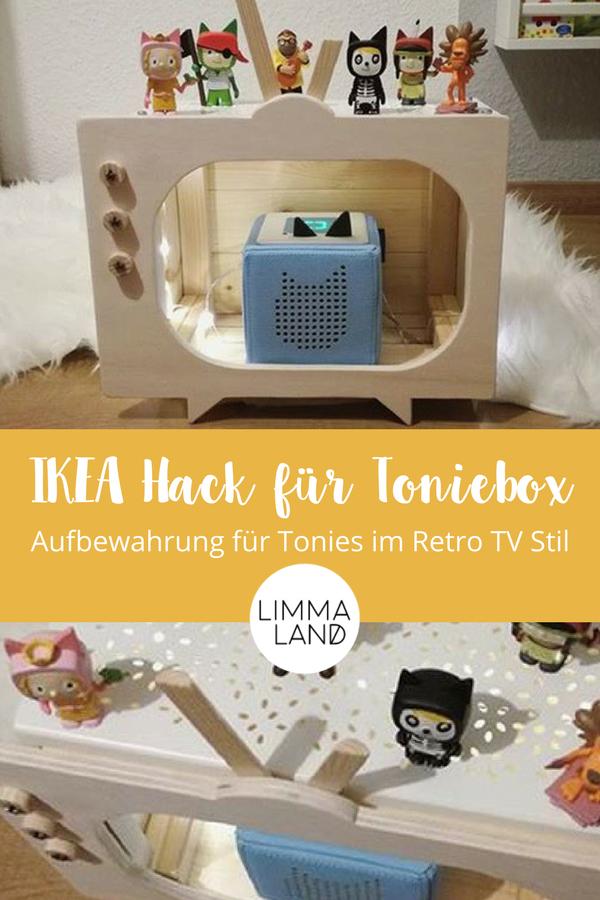 Ikea Holzkiste Hack Toniebox Regal Selber Bauen Mit Knagglig Deco