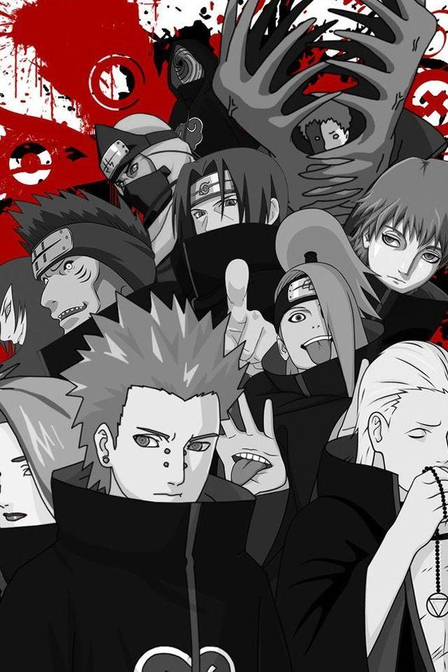 Naruto Akatsuki With Images Wallpaper Naruto Shippuden Naruto