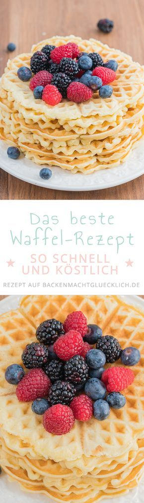waffeln grundrezept rezept backen pinterest waffelteig teig und backen. Black Bedroom Furniture Sets. Home Design Ideas