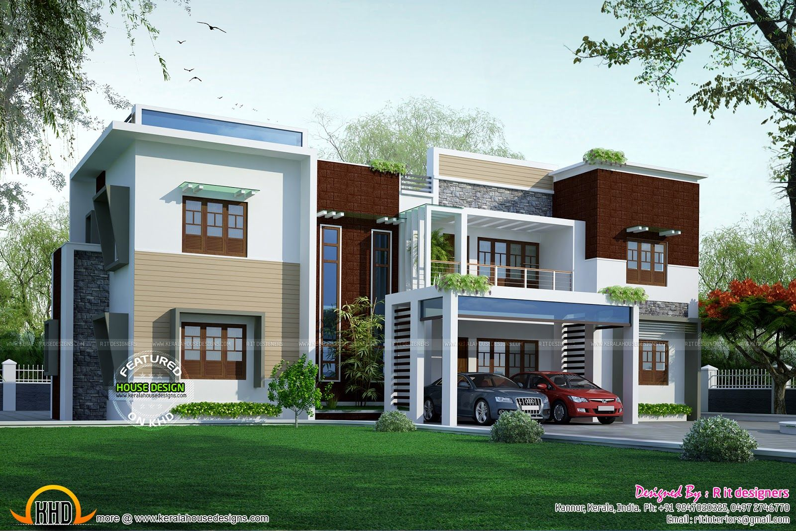 Most Popular Modern Flat Designs Collection House Design Pictures Modern House Design Flat Roof House Designs