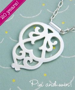 Medieval arabesque pendant - pin and win!