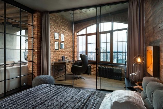 Warehouse Style Loft With Stunning Visual Appeal Loft Apartment