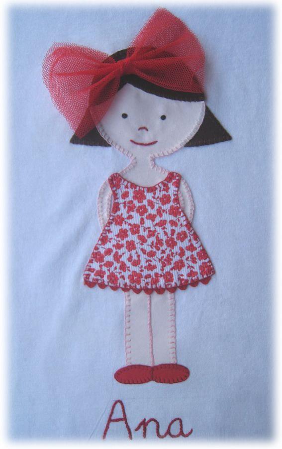 Camisetas personalizadas - lazos de tul: Ya estamos aqui......