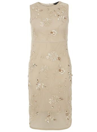 champagne Pencil dress
