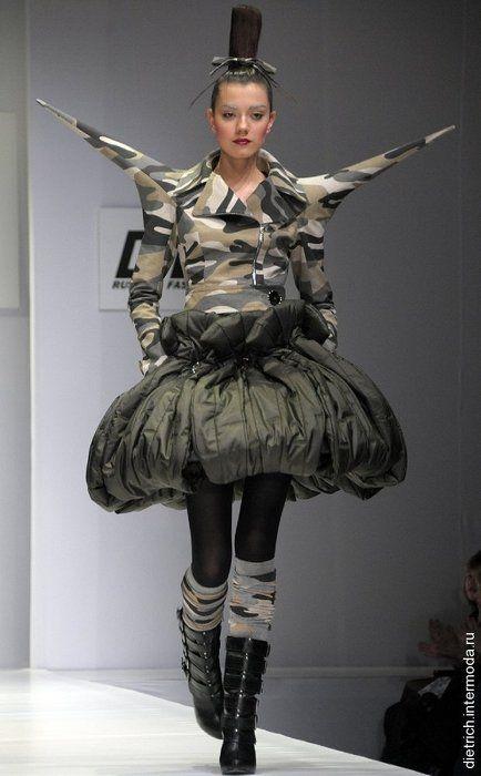 Yegor Zaitsev Quirky Fashion Fashion Weird Fashion