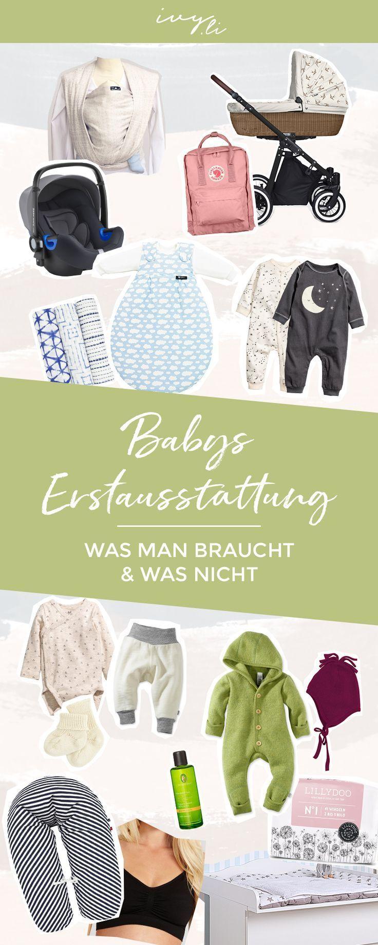 Babys Erstausstattung | Was Sie brauchen und was nicht Alles für den Neubau ...   - Schwangerschaft...