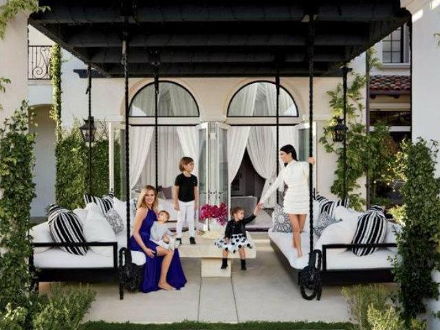 Magnolia Signature Hanging Bed - as Khloe Kardashian's Bed Swing Design