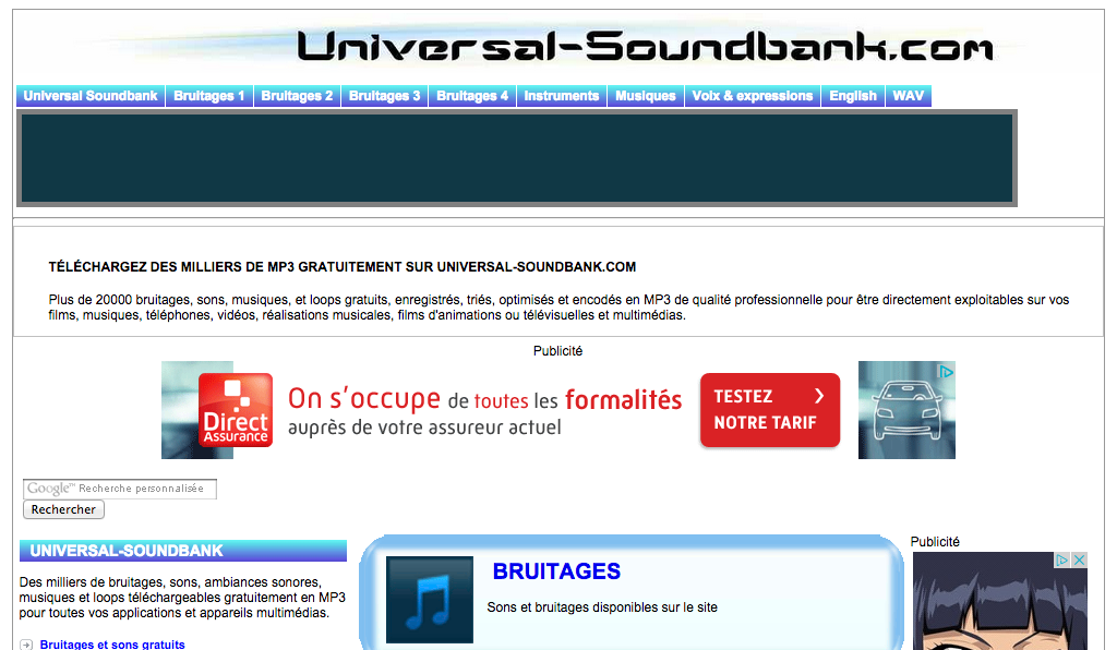son universal soundbank