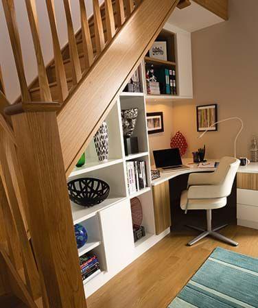 under stairs furniture. Stylish Understairs Study \u2013 Home Furniture Neville Johnson Under Stairs