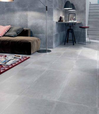 Carrelage salon séjour TAU Oristan Gris | Salons, Living spaces and ...
